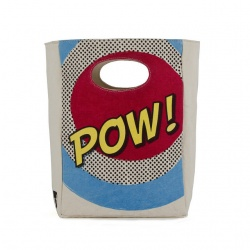 Fluf Organic Lunch Bag - Pow!
